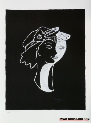 Lithographie Georges Braque