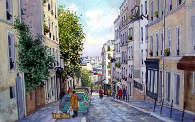 Jean charles decoudun la galerie roussard montmartre - Bureau de change rue montmartre ...