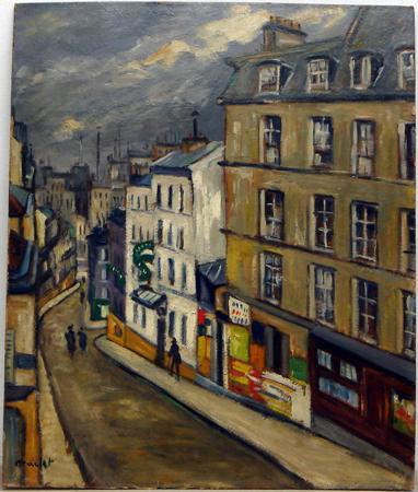 La rue Germain-Pillon